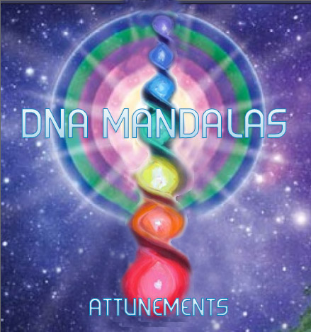 DNA RAINBOW Mandalas