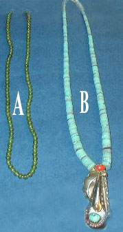 Green Jade Necklace/Turoquise Necklace